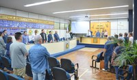 Câmara realiza terceira sessão ordinária de 2019
