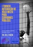 I Torneio Integração de Vôlei Misto para Servidores Públicos