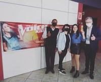 Palmeirense participa do The Voice Kids