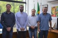 Procuradores do município fazem visita à presidência