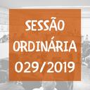 Sessão Ordinária nº 29/2019